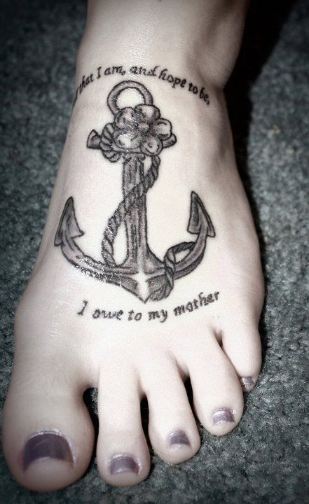 """""""All that I am, and hope to be, I owe to my mother"""""""