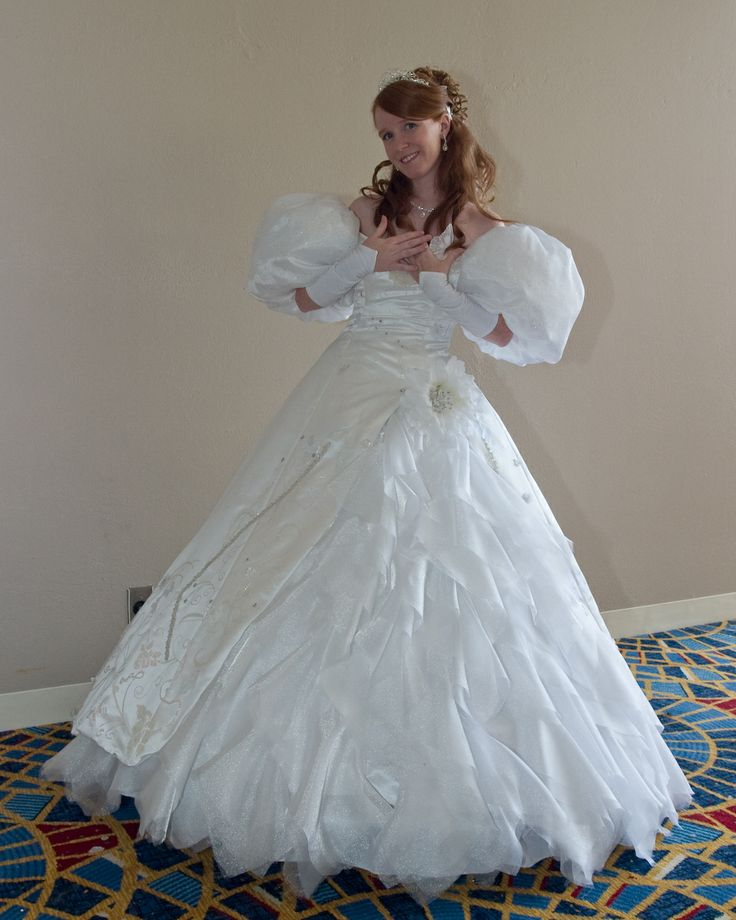 2018 Milla Nova Simple Satin Wedding Dresses 34 Long: Widow Steampunk Character
