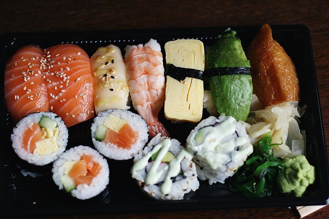 sushi #sushi LOOOOOOVE