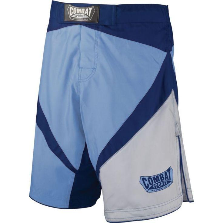 Combat Sports Fight MMA Boardshorts, Adult Unisex, Size: 30, Blue