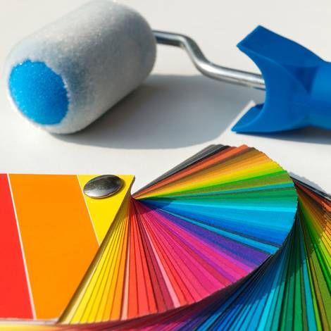 Wand- und Deckenfarbe Magnetfarbe selber machen