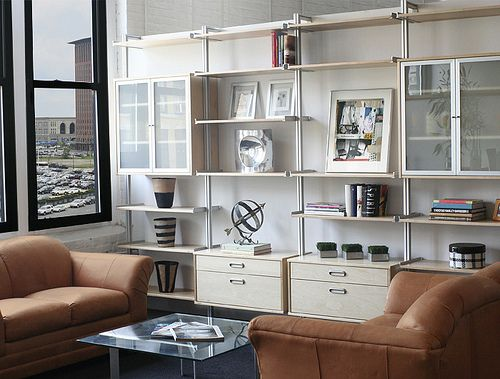 Rakks Wall Mounted Shelving System Design Studio Loft