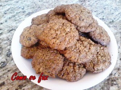 Como se faz: Cookie integral de granola