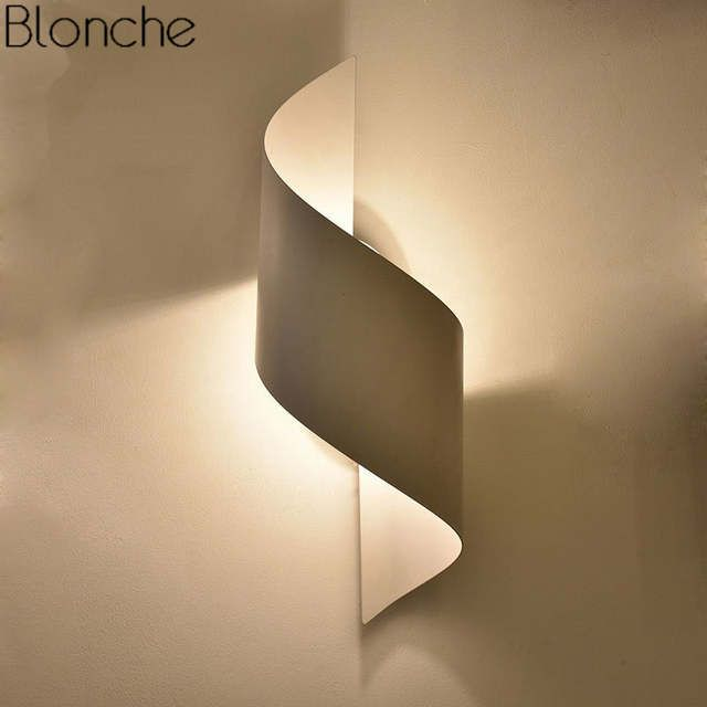 Online Shop Modern Wall Lamp Led Mirror Sconce For Home Lighting Decoration Luminaire Bedroom Bedside L Stair Wall Lights Wall Lighting Design Modern Wall Lamp