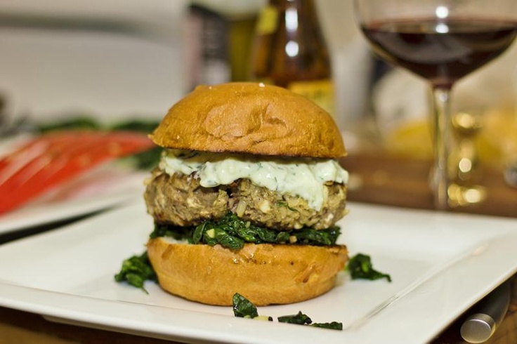 ... Bittman's Brown Rice and Lamb Burgers from the Food Matters Cookbook
