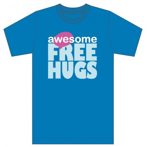 T-Shirt: Awesome Free Hugs (All fit)