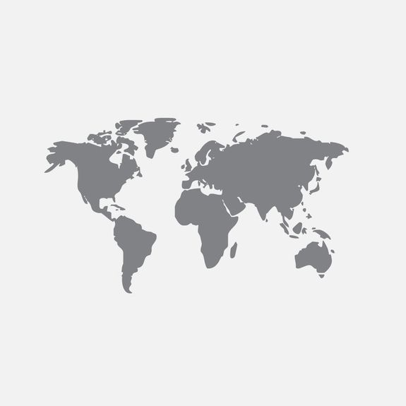 Superbalist - World Map Decal – Grey