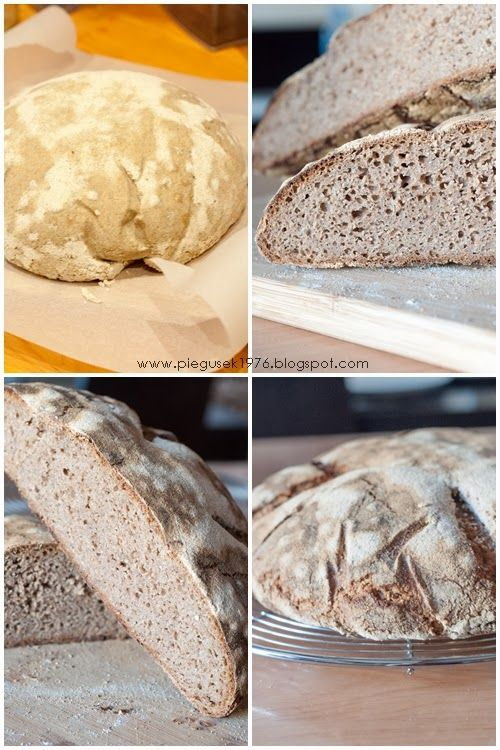 http://pieguskowakuchnia.pl/chleb-oliwkowy/ #bread