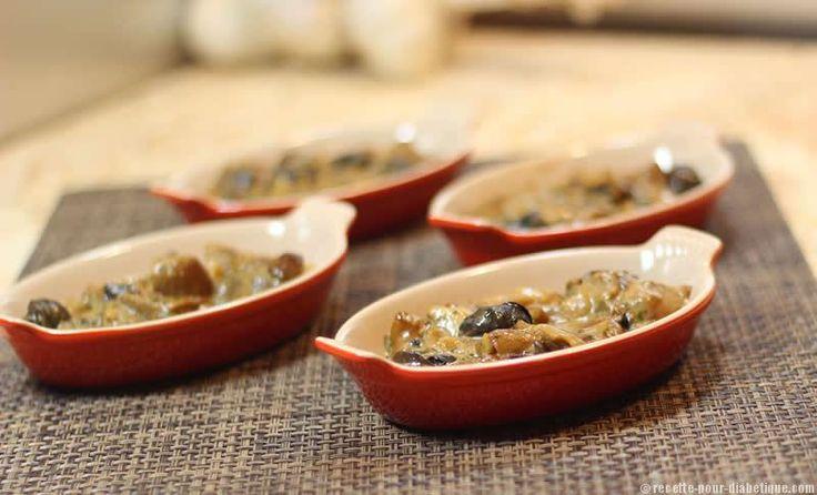 Fricassée de Cèpes aux Escargots Une recette très Frenchy pour ceux qui aiment les escargots.