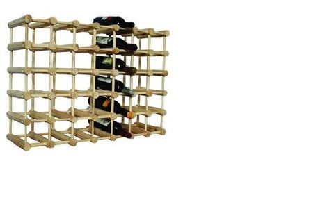 Stakrax Natural 48 Bottle – Wine Stuff - Online collection of wine racks for sale
