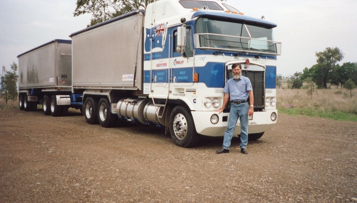 The 50 tonne truck and quad dog' K104 with N14-500 power