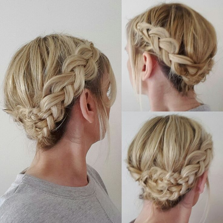 Dutch crownbraid