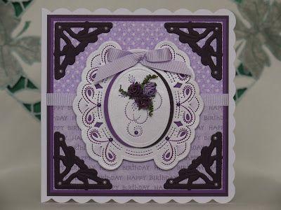 Craftyliz's Creations: Stitching Dies
