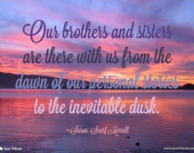 Loss of Brother missing at the holidays Inspirational Sayings - Yahoo Image Search Results