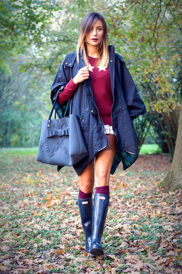 Best 25+ Navy hunter boots ideas only on Pinterest   Striped ...