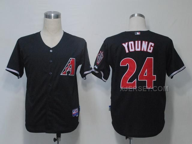 http://www.xjersey.com/diamondbacks-24-young-black-jerseys.html DIAMONDBACKS 24 YOUNG BLACK JERSEYS Only $34.00 , Free Shipping!