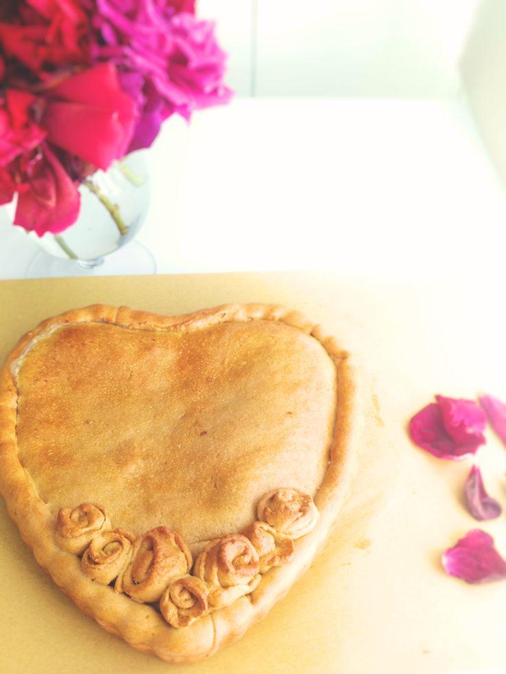 Crostata di rose al limone - FESTA DELLA MAMMA