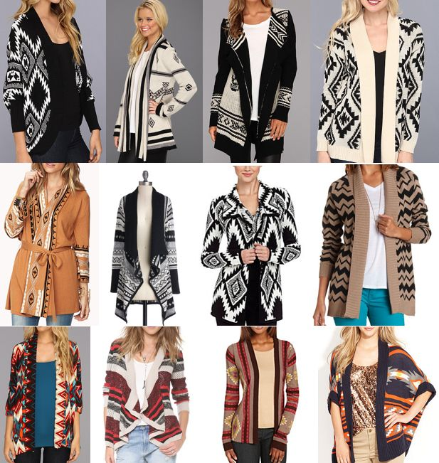 Slightly obsessed with aztec sweaters my style pinterest