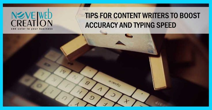 Typing speed and Accuracy of words is one of the biggest fundamental skills for the content writer. Not only for the content writer but any of field