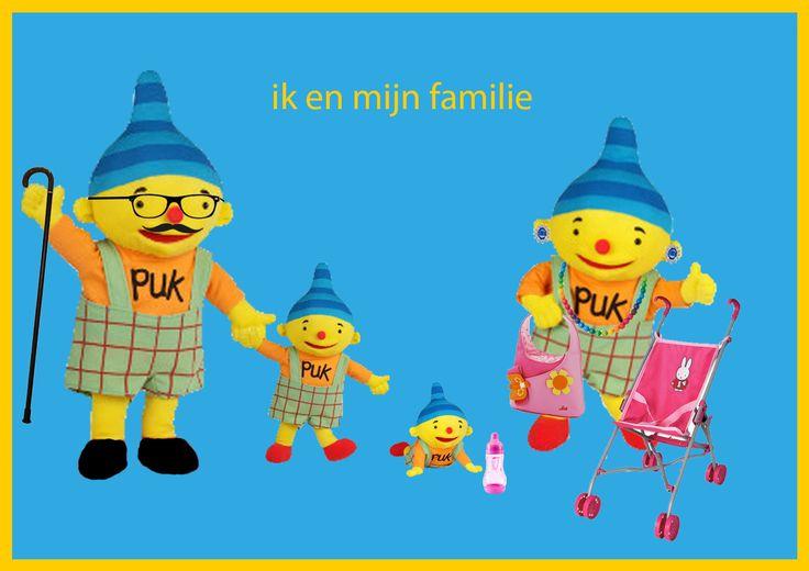 Ik en mijn familie - boeken/versjes de familie van puk
