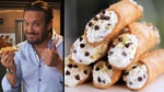 Chow Ciao's Fabio makes homemade ricotta. If you aren't interested in the cannoli, you can just skip the last two minutes.
