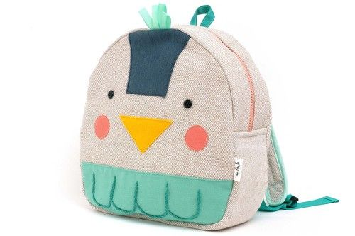 Bird toddler mini backpack www.grigrin.com