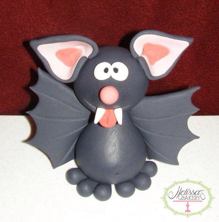 Bat Halloween Fondant (Cake Design Halloween)