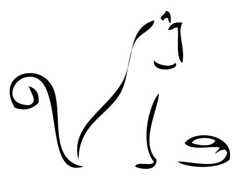 drawings paintings simple line drawings drawings clipart cat drawings ...