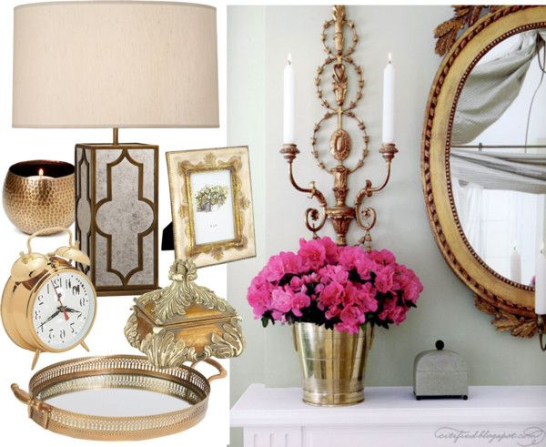 Home Decorating Accessories 2013 Home Decor Trends Brass Home Accents 2013
