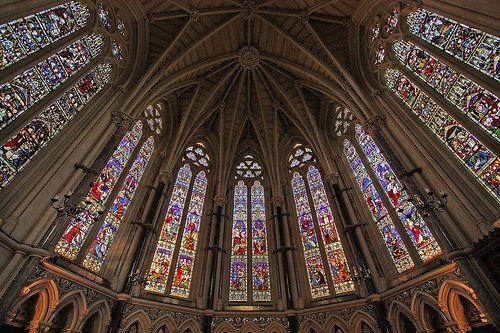 Gothic vaults.