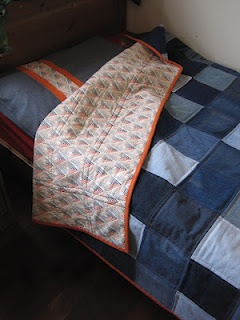 Moody Blues denim quilt. I think this will be my next project...really loved how this turned out. CK