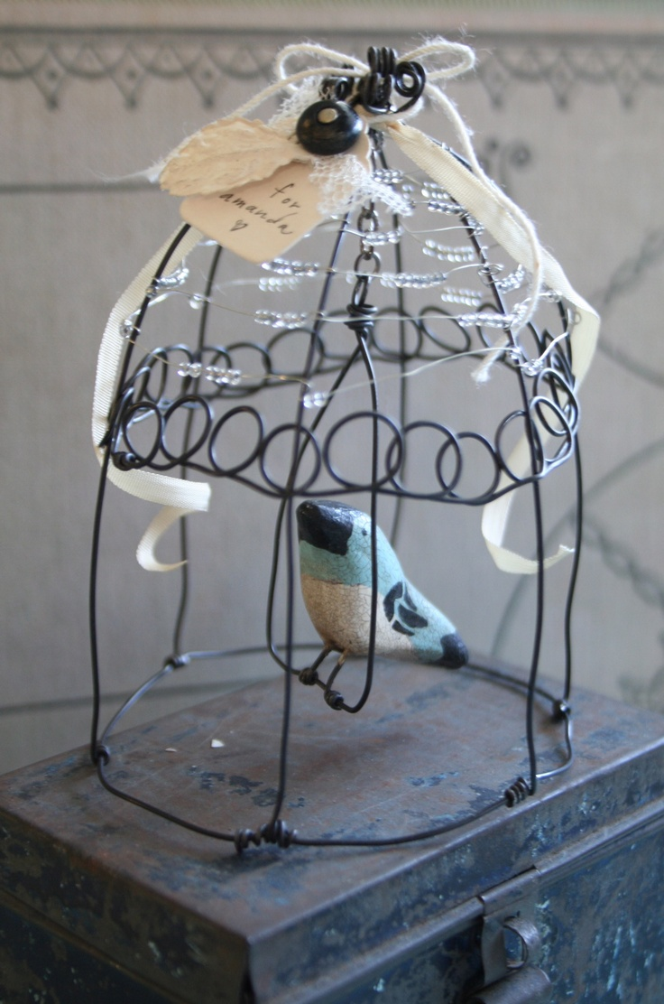 38 best drát images on Pinterest   Bird cages, Wire work and Bird cage