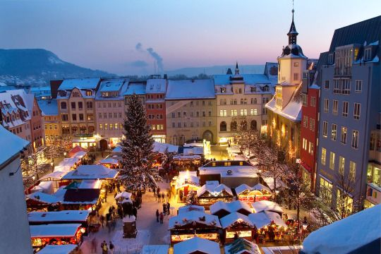 Weihnachtsmarkt in Jena (Thüringen)