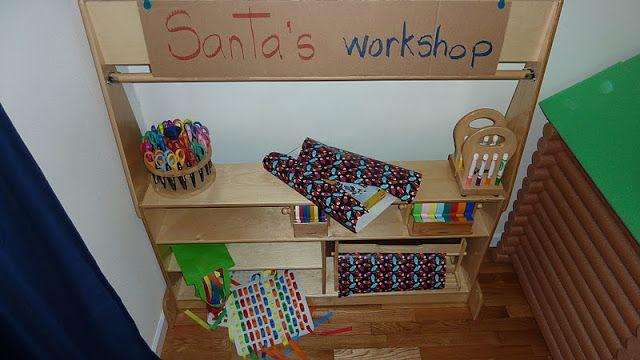 De tout et de rien: Activités pour le Préscolaire: Intégrer le thème de Noël dans le coin dramatique, écriture et mathématiques!