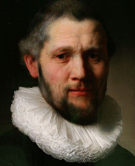 Rembrandt, portrait of a man.  Art-and-supplies.com