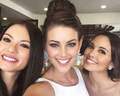 Rolene Strauss Miss World 2014 travels to Philippines