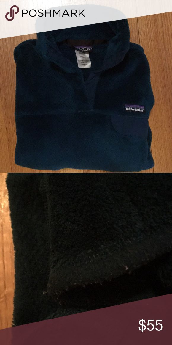 Patagonia Women's Re-Tool Snap-T Fleece Pullover EUC ladies/women's small Synchilla Snap-T pullover. Some pilling on the cuffs/hem (see picture #2), but otherwise looks like new! Patagonia Tops Sweatshirts & Hoodies