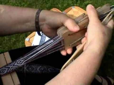 Swedish Band/Card Weaving