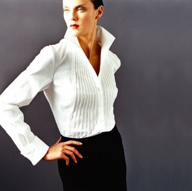 It is, actually, hard to find a good Classic White Shirt. The fit must be perfect, and little details like the darts and cuffs make a big difference. Find more tips in the attached link!!!!