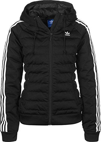 Adidas Damen Slim Jacke, schwarz (Black), 40 ...