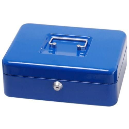 Pénzkazetta, érmetartóval - Kék - Közepes méretű - Zárható lemez fémkazetta pénz kazetta - Pénzkazetták - 8878M - 3,990Ft - Pénzkazetta és aprópénztartó fémkazetta