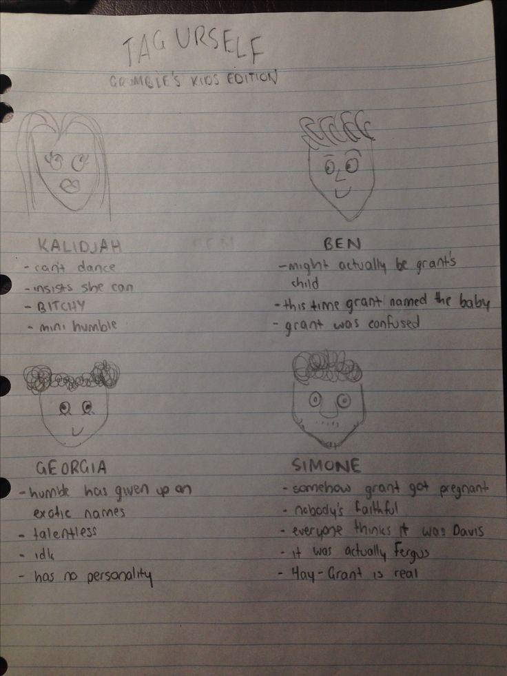 TAG URSELF Grumble's Kids Ed by TANGI
