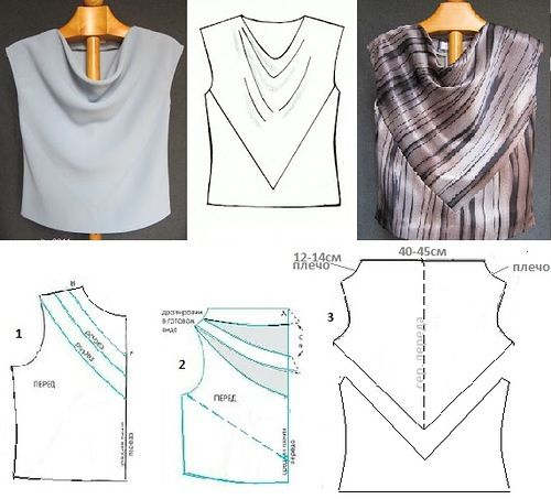 Blouse and detail