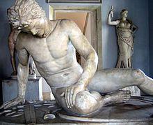 O gaulês moribundo