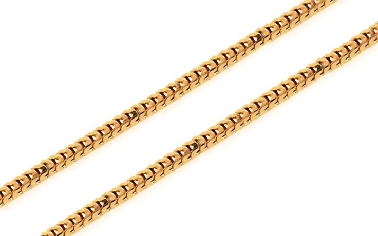 Zlatá retiazka Snake - lanko 1 mm