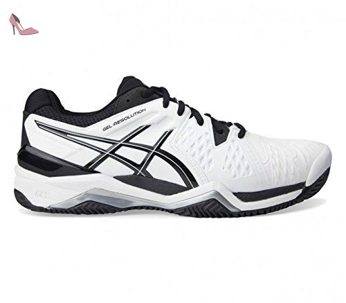 Gel-Dedicate 5 Clay, Chaussures de Tennis Femme, Gris (Silver/Rouge Red/White), 40 EUAsics