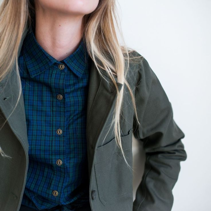 Are you looking forward to Fall?  We have new plaids and jackets on the horizon. Available on September 20th.