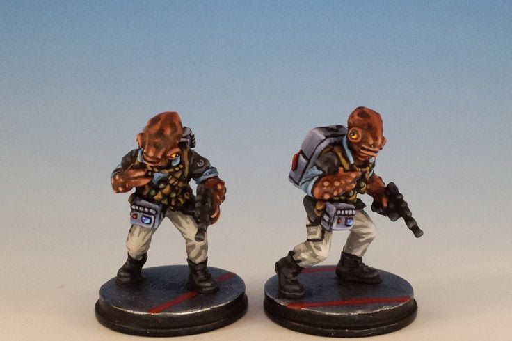 Imperial Assault Rebel Saboteur, Mon Calamari Conversion