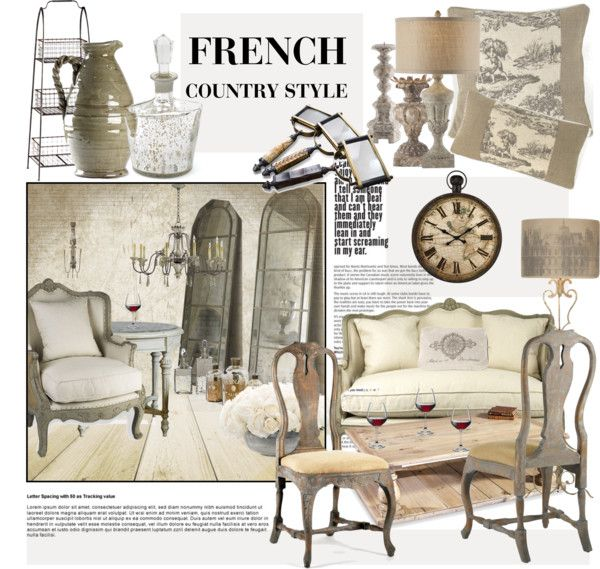 """""""French Country Style"""" by janephoto on Polyvore"""