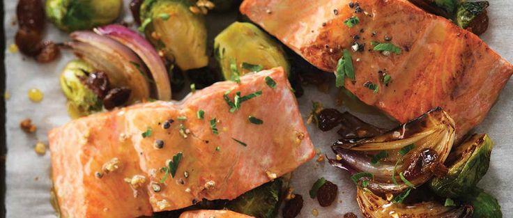 Cette semaine, essayez cette recette de saumon et choux de Bruxelles grillés à l'érable. N'oubliez pas de consulter notre jeudi épicerie, pour les meilleures aubaines en épiceries de la semaine!...